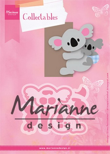 Marianne Design - Die - Collectables - Eline`s Koala & Baby