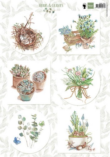 Marianne Design - Knipvel- Herbs & Leaves 1