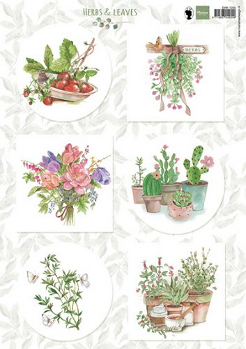 Marianne Design - Knipvel- Herbs & Leaves 2