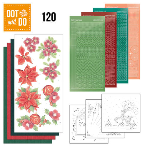 Dot and Do 120 - Jeanine's Art - Kerstbloemen