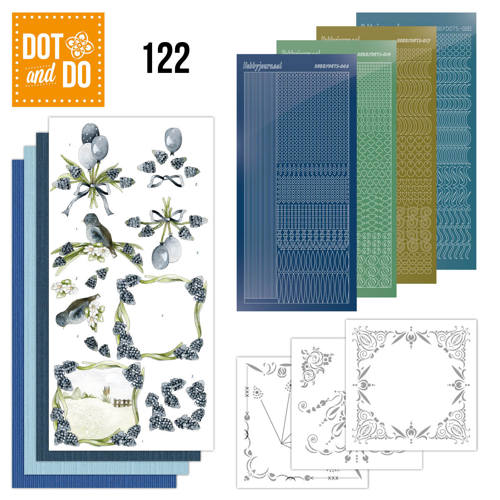 Dot and Do 122 - Precious Marieke Blauwe Druifjes