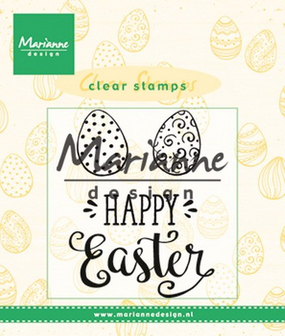 Marianne Design - Clearstamp - Happy Easter UK