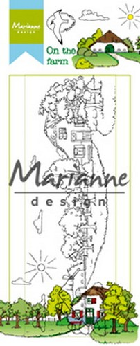 Marianne Design - Clearstamp - Hetty`s on the farm