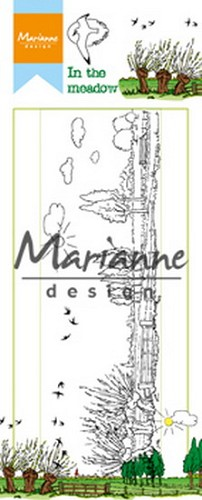 Marianne Design - Clearstamp - Hetty`s in the meadow