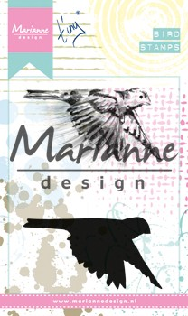 Marianne Design - Cling Stamp - Tiny`s birds 1