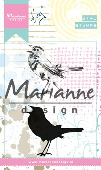 Marianne Design - Cling Stamp - Tiny`s birds 2