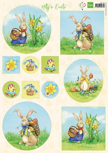 Marianne Design - Knipvel - Hetty`s Easter