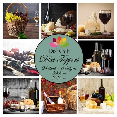 Dixi Craft - Toppers - Wine