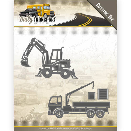 Amy Design - Die - Daily Transport - Construction Vehicles