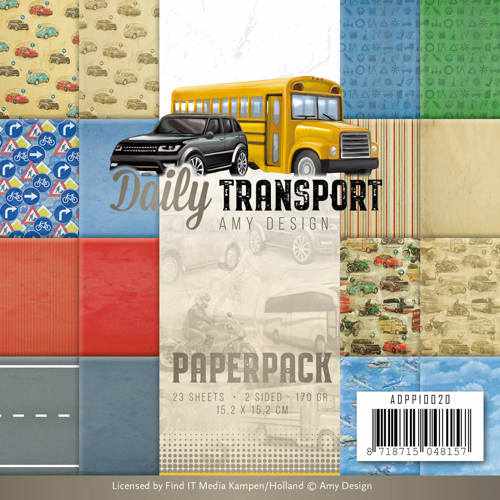 Amy Design - Paperpack - Daily Transport