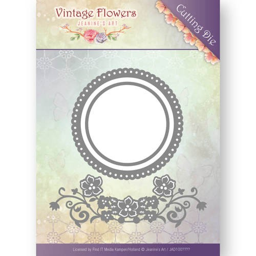 Jeanines Art - Die - Vintage Flowers - Flowers and Circles