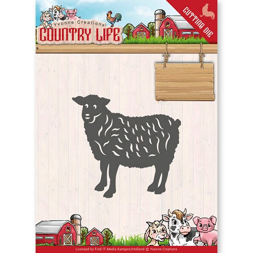 Yvonne Creations - Die - Country Life - Sheep