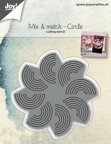 Joy!Crafts - Die - Mix and Match - Cirkel