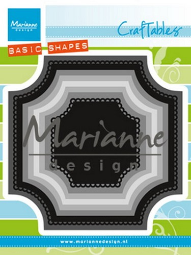Marianne Design -  Die - Craftables - Basic Square