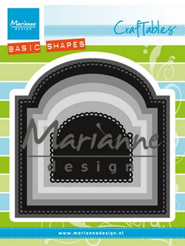 Marianne Design -  Die - Craftables - Basic Arch