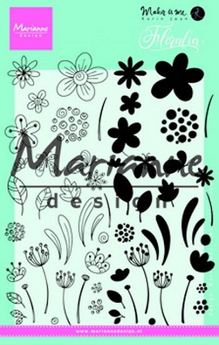 Marianne Design -  ClearStamp - Floralia