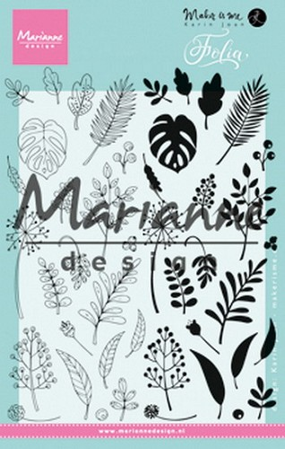 Marianne Design -  ClearStamp - Folia