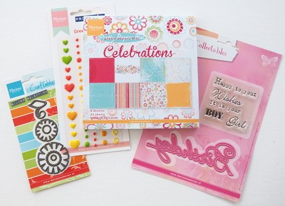 Marianne Design - Marianne pakket Celebrations UK
