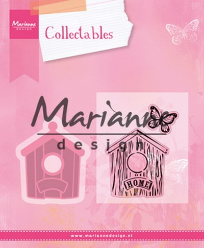 Marianne Design - Die - Collectables - Birdhouse home
