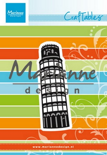 Marianne Design - Die - Craftables - Tower of Pisa