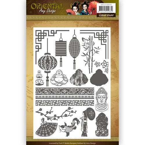 Amy Design - Clearstamp - Oriental