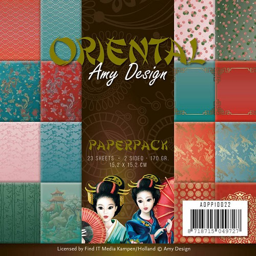 Amy Design - Paperpack - Oriental