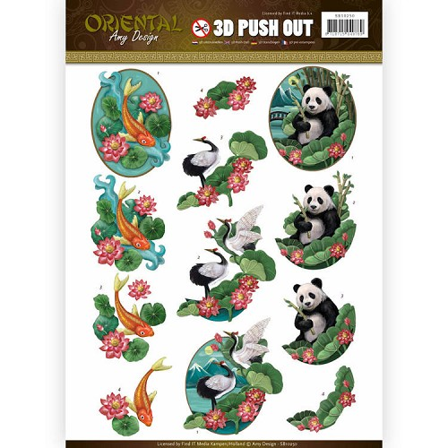 Amy Design - Push Out - Oriental - Animals