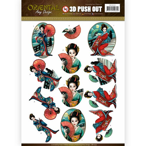 Amy Design - Push Out - Oriental - Geishas