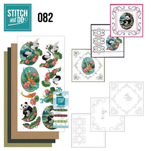 Card Deco - Stitch and Do - Borduurset 82 - Oriental