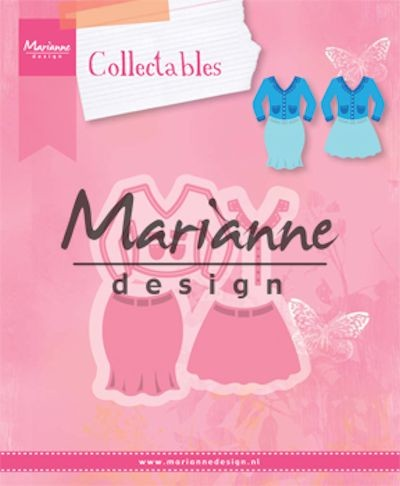 Marianne Design - Die - Collectables - Lady`s Suit