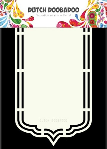 Dutch Doobadoo - Dutch Shape Art - Bookmark A5