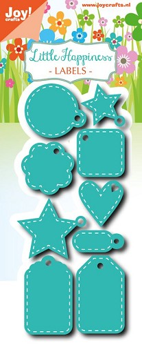 Joy!Crafts - Cutting & Embossing - Little Happiness - Labels