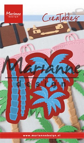 Marianne Design - Die - Creatables - Palm trees