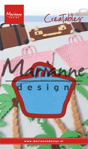 Marianne Design - Die - Creatables - Beach Bag