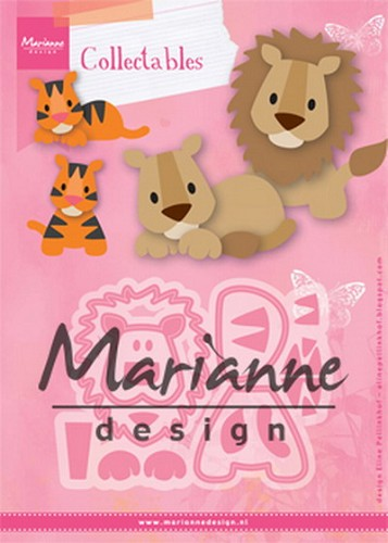 Marianne Design - Die - Collectables - Eline`s Lion - Tiger