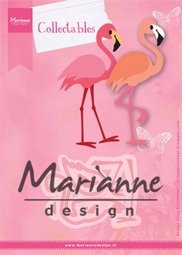 Marianne Design - Die - Collectables - Eline`s Flamingo