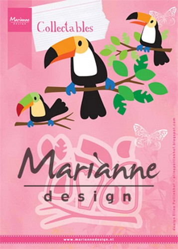 Marianne Design - Die - Collectables - Eline`s Toecan