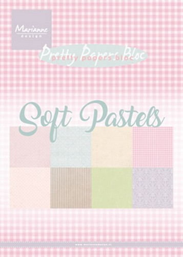 Marianne Design - Pretty Papers Bloc - Soft Pastels
