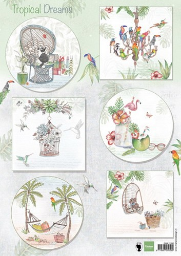 Marianne Design - Knipvel - Els Tropical Dreams