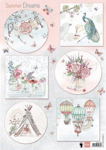 Marianne Design - Knipvel - Els Summer Dreams