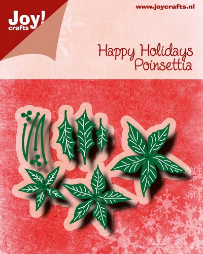 Joy!Crafts- Die - Happy Holiday - Poinsetta