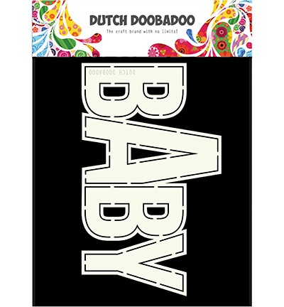 Dutch Doobadoo - Card Art - Baby A5