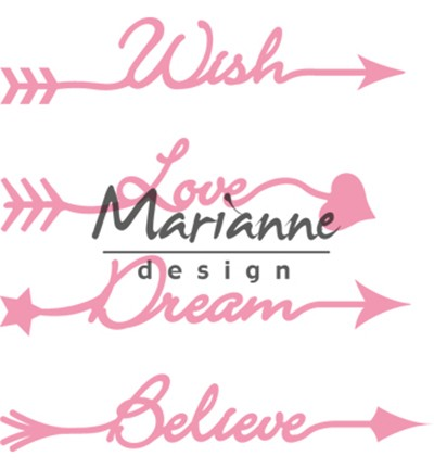 Marianne Design - Die - Collectables - Arrow Sentiments