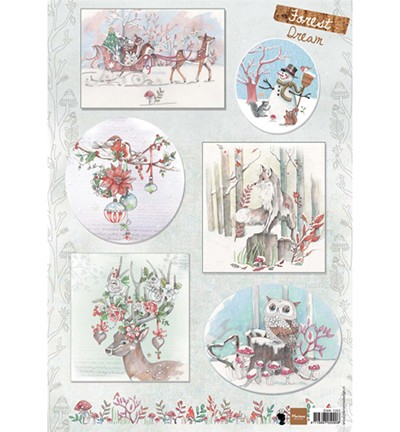 Marianne Design - Knipvel - Els Forest Dream 2