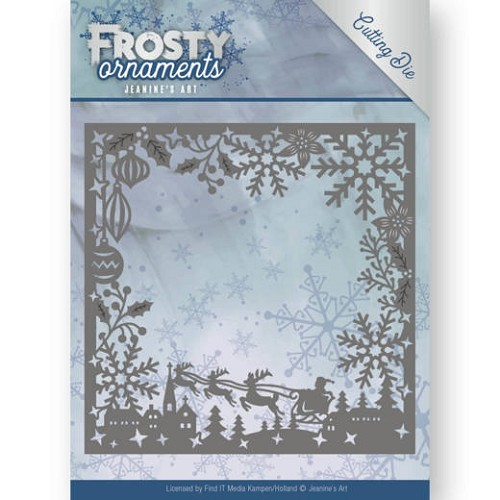 Jeanines Art - Die - Frosty Ornaments - Frosty Frame
