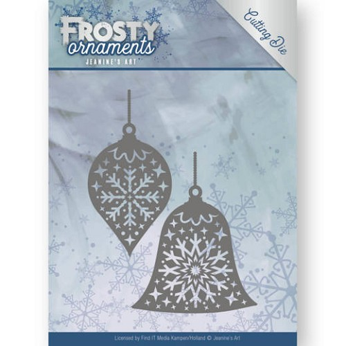 Jeanines Art - Die - Frosty Ornaments - Christmas Baubles