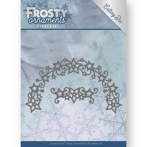 Jeanines Art - Dies - Frosty Ornaments - Frosty Wreath