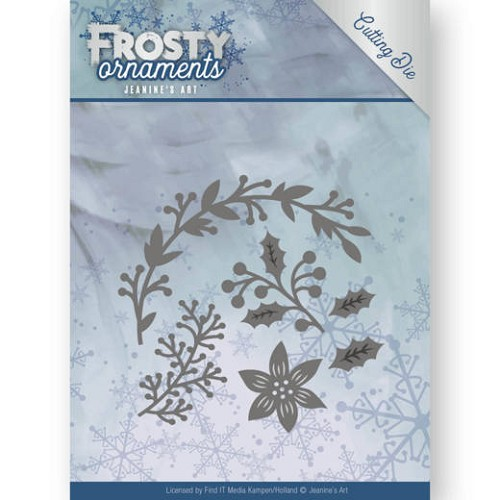 Jeanines Art - Die - Frosty Ornaments - Christmas Branches