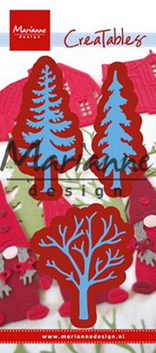Marianne Design - Die - Creatables - Forest Trees (set of 3)