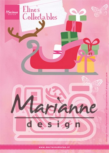 Marianne Design - Die - Collectables - Eline`s Sleigh